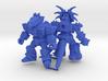 MiniCreatures: S.H Stegosaur Vs Stalwart Styracosa 3d printed