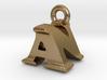 3D Monogram Pendant - ANF1 3d printed