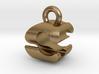 3D Monogram Pendant - CSF1 3d printed