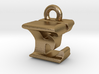 3D Monogram Pendant - EYF1 3d printed