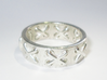 Lace-up Ring - Sz. 7 3d printed