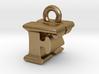 3D Monogram Pendant - FKF1 3d printed