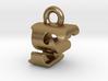 3D Monogram Pendant - FSF1 3d printed