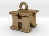3D Monogram Pendant - HNF1 3d printed