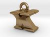 3D Monogram Pendant - KYF1 3d printed