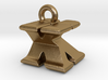 3D Monogram Pendant - KXF1 3d printed