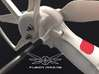 4x. Sputnik V3 Prop Guard Connector / Leg Extender 3d printed Sputnik Leg Extender / Prop Guard Connect