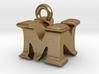 3D Monogram Pendant - MNF1 3d printed