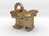 3D Monogram Pendant - NTF1 3d printed