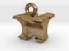 3D Monogram Pendant - NYF1 3d printed