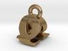 3D Monogram - QAF1 3d printed