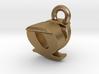 3D Monogram - QVF1 3d printed