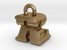 3D Monogram - RZF1 3d printed