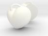 Split Heart Pendent  3d printed