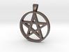 Pentagram Simple 3d printed