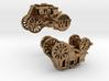 StagecoachCufflinks 3d printed