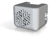 Ac3-raised-snowflake 3d printed