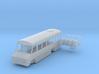 N scale 1:160 Blue Bird Mini Bird school bus 3d printed