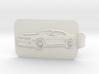 Camaro Key Fob 3d printed