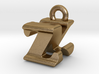 3D Monogram - ZNF1 3d printed