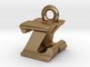 3D Monogram - ZKF1 3d printed