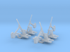 4 Leviers aiguillages(SNCB)/(NMBS)wissel omzetters 3d printed