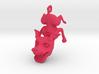 Flying Dog Pendant/Keychain 3d printed