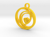 CIrcular CTR Pendant 3d printed
