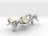 Rams Head Cufflinks 3d printed