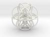 Seed of Life: Cuboctahedral Flower 3d printed