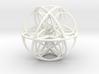 Cuboctahedral Flower of Life Sacred Geometry 3d printed