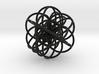 Cuboctahedral Flower of Live Circles - Sacred Geom 3d printed