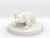 Small Badger Miniature 3d printed