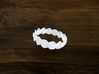 Turk's Head Knot Ring 2 Part X 14 Bight - Size 8 3d printed