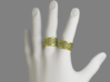 Noble Vines Ring - EU Size 58 3d printed