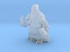 Morek Brightstone, Outcast Dwarven Sorcerer 3d printed
