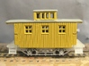 R24a New N Chassis for Bachmann Bobber Caboose x2 3d printed R24a under a modified Bach bobber