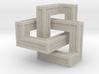 Cubic Trefoil Knot - Color 3d printed