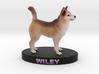 Custom Dog Figurine - Wiley 3d printed