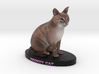 Custom Cat Figurine - Smokey 3d printed