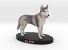 Custom Dog Figurine - Alex 3d printed
