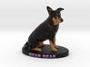 Custom Dog Figurine - Bear 3d printed