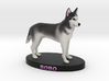 Custom Dog Figurine - Chabrui 3d printed