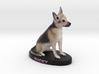 Custom Dog Figurine - Bucky 3d printed