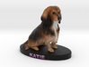 Custom Dog Figurine - Katie 3d printed