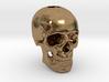 25mm 1in Keychain Bead Human Skull 3d printed