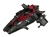Vanquisher Class Frigate  3d printed Render may differ slightly from 3D print