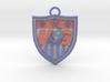 US national Team logo keychain 3d printed