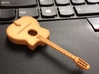 Gipsy Jazz Guitar (Selmer style) 3d printed Orange Strong an Flexible Polished