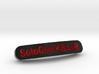 SoloGod KILLER Nameplate for SteelSeries Rival 3d printed